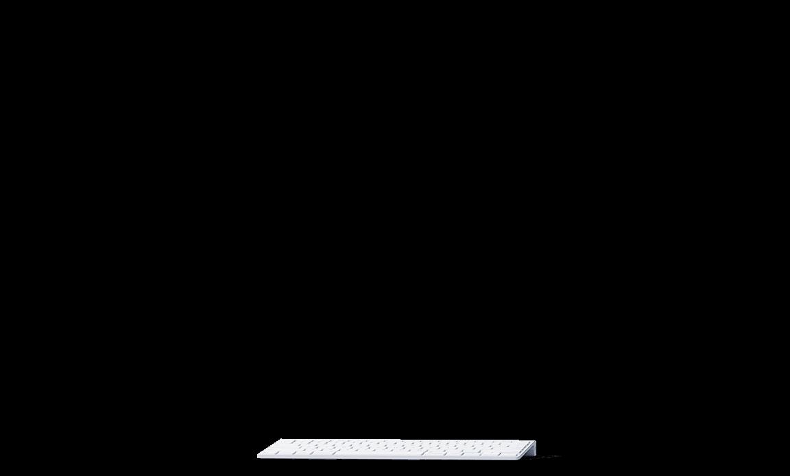 Клавиатура к IMac белая